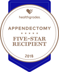 appendectomy five-star recipient award