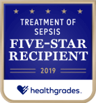 treatment of sepsis five-star recipient award